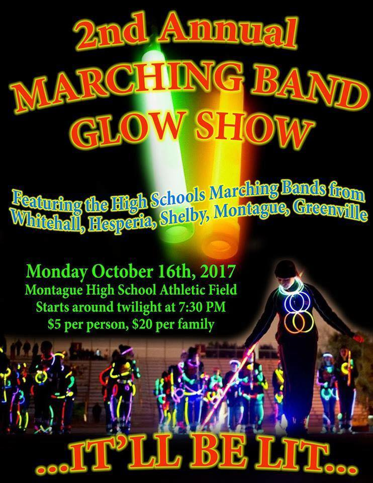Marching Band Glow Show | MI Lakeshore Kids